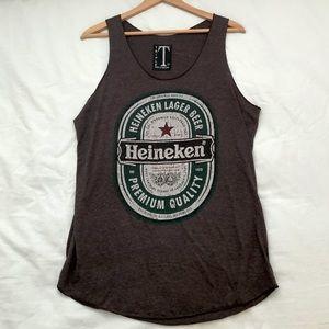 Heineken muscle tank shirt